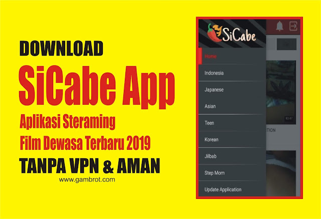 SiCabe App - Aplikasi Streaming Video Terlengkap Tanpa VPN Terbaru 2019