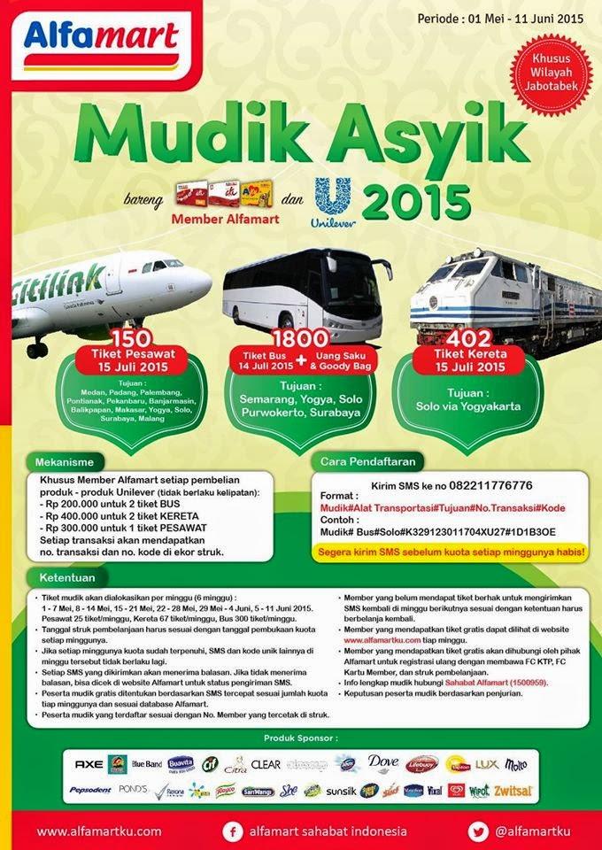 Mudik Asik Alfamart 2015