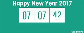 Cara Membuat Countdown Timer Tahun Baru 2017 Keren Di Blog