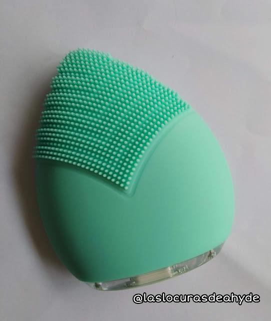 Sunmay Leaf cepìllo limpiador facial de silicona parte para masajes