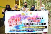 Cegah Praktek Pungli, Bhabinkamtibmas Polres Majene Sosialisasi Stop Pungli