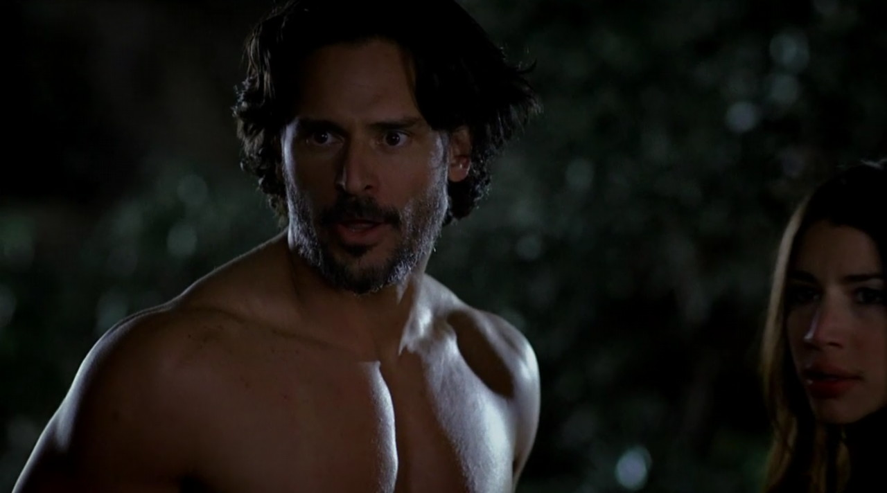 Male Celebs Naked Joe Manganiello Naked In Hot Threesome -8163