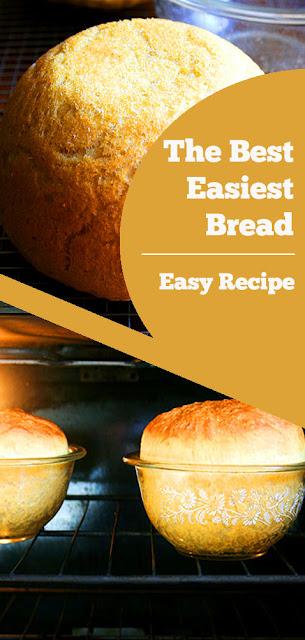 The Best Easiest Bread - My mother's peasant bread: the best easiest bread you will ever make #best #easiest #bread #breakfast #easyrecipe