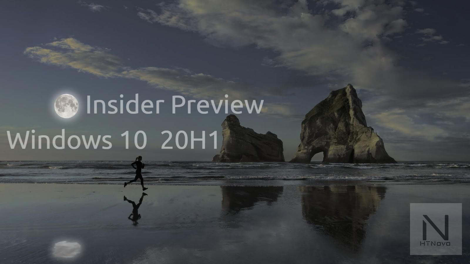 Windows 10 20H1 - Build 18956 | Novità