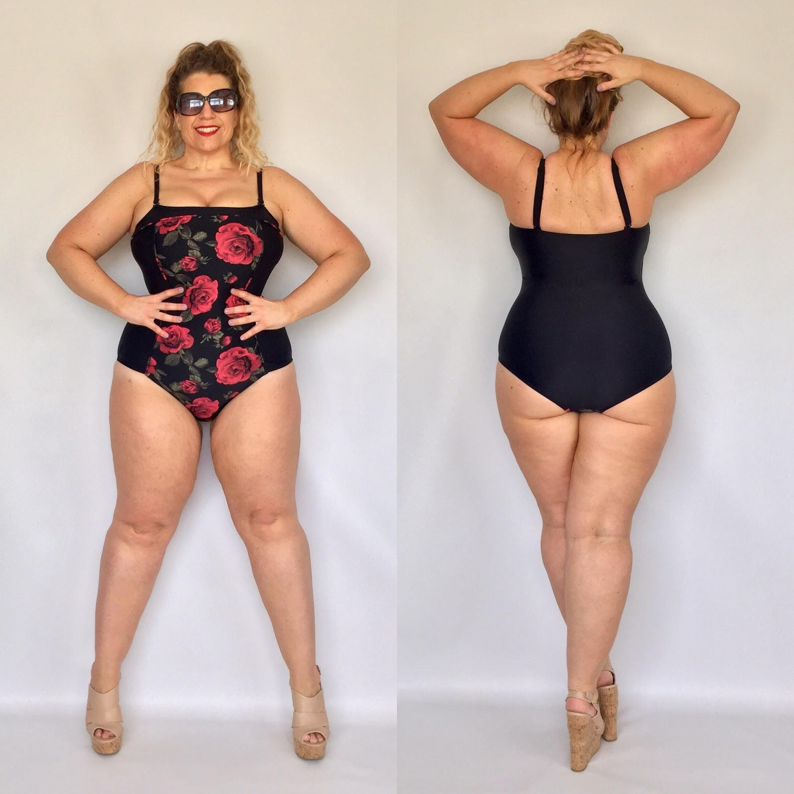 Forever 21+ Floral One-Piece Swimsuit