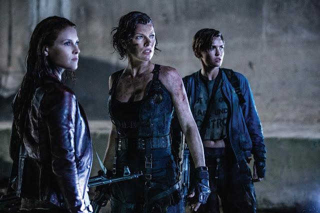 Primera imagen oficial de 'Resident Evil: El capítulo final'