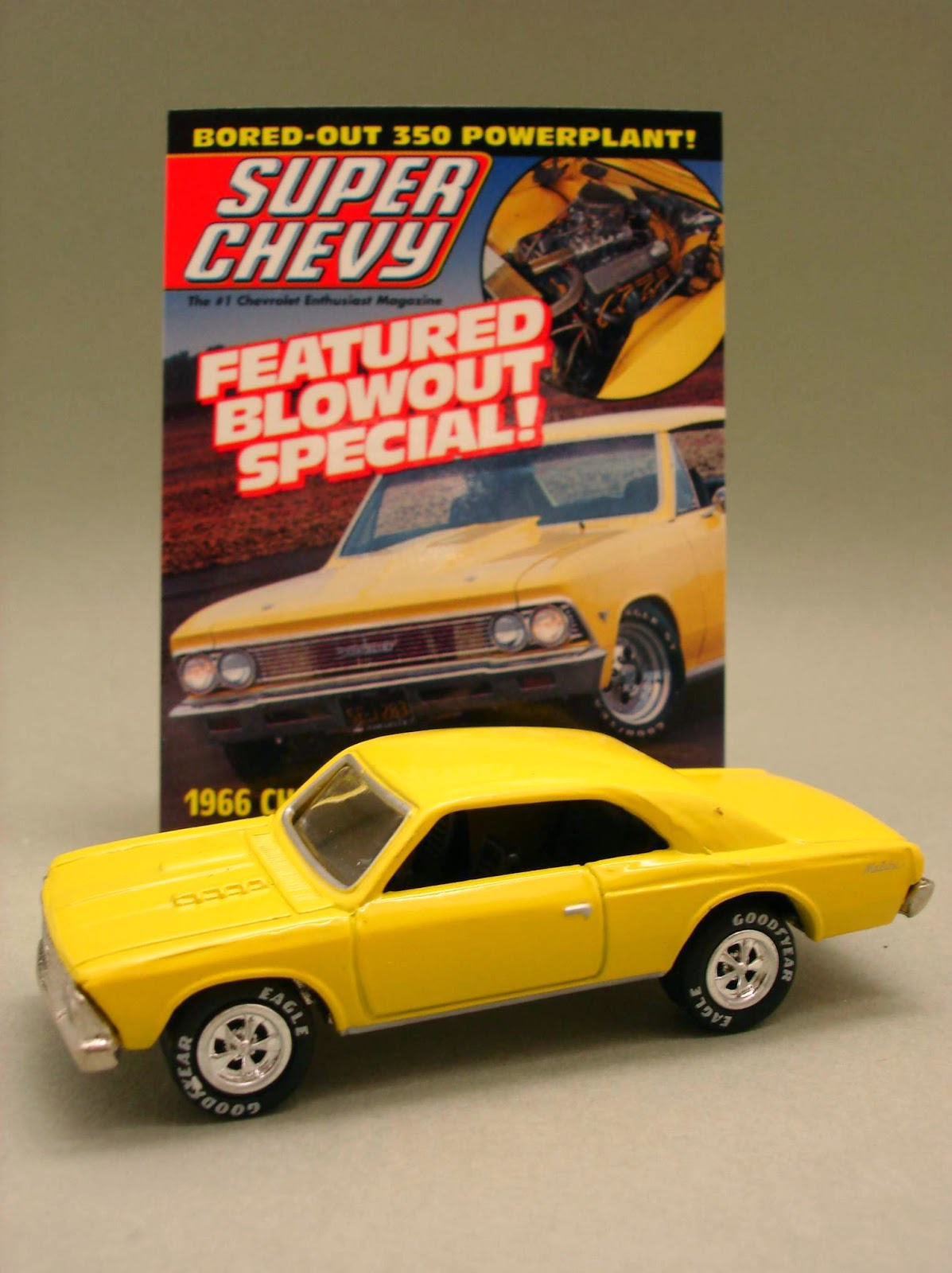 Diecast Hobbist 1966 Chevrolet Malibu Chevy Cheyenne Super 4x4 164 Scale From Johnny Lightning Cover Cars Release 3