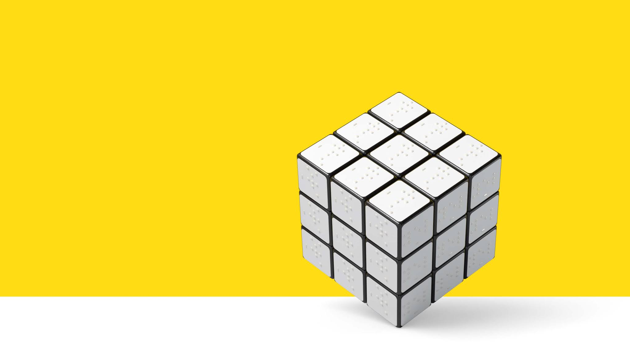 braillecube for blind people tuna netra speedcuber