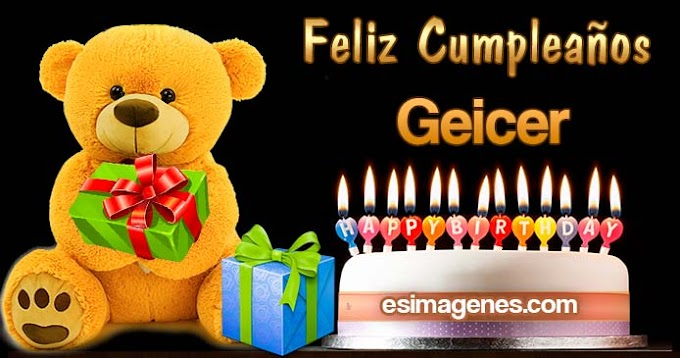 Feliz Cumpleaños Geicer