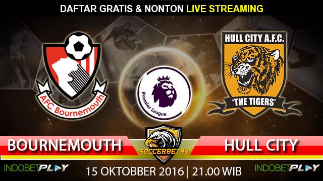 Prediksi Bournemouth vs Hull City 15 Oktober 2016 (Liga Inggris)