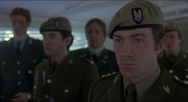 Lewis Collins in SAS uniform