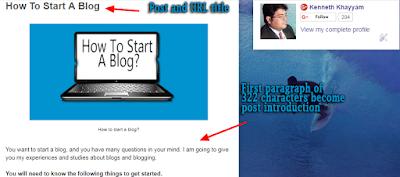 blog post, blogger blog post, front end of blogger blog,