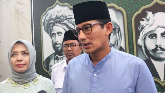 Sandiaga Hargai Kejujuran Jokowi, Kebut Infrastruktur untuk Pilpres