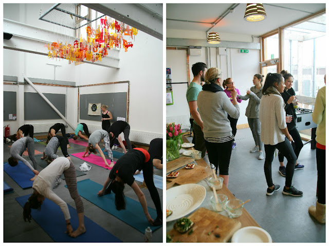 Hackney Pantry Yoga Brunch