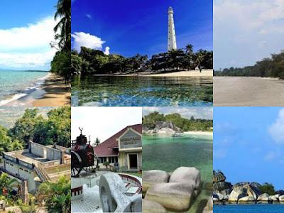 tempat wisata keren di Bangka Belitung