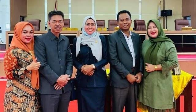 Foto Bupati dan Wakil Bupati Rohil Terpilih Beredar Tanpa Masker
