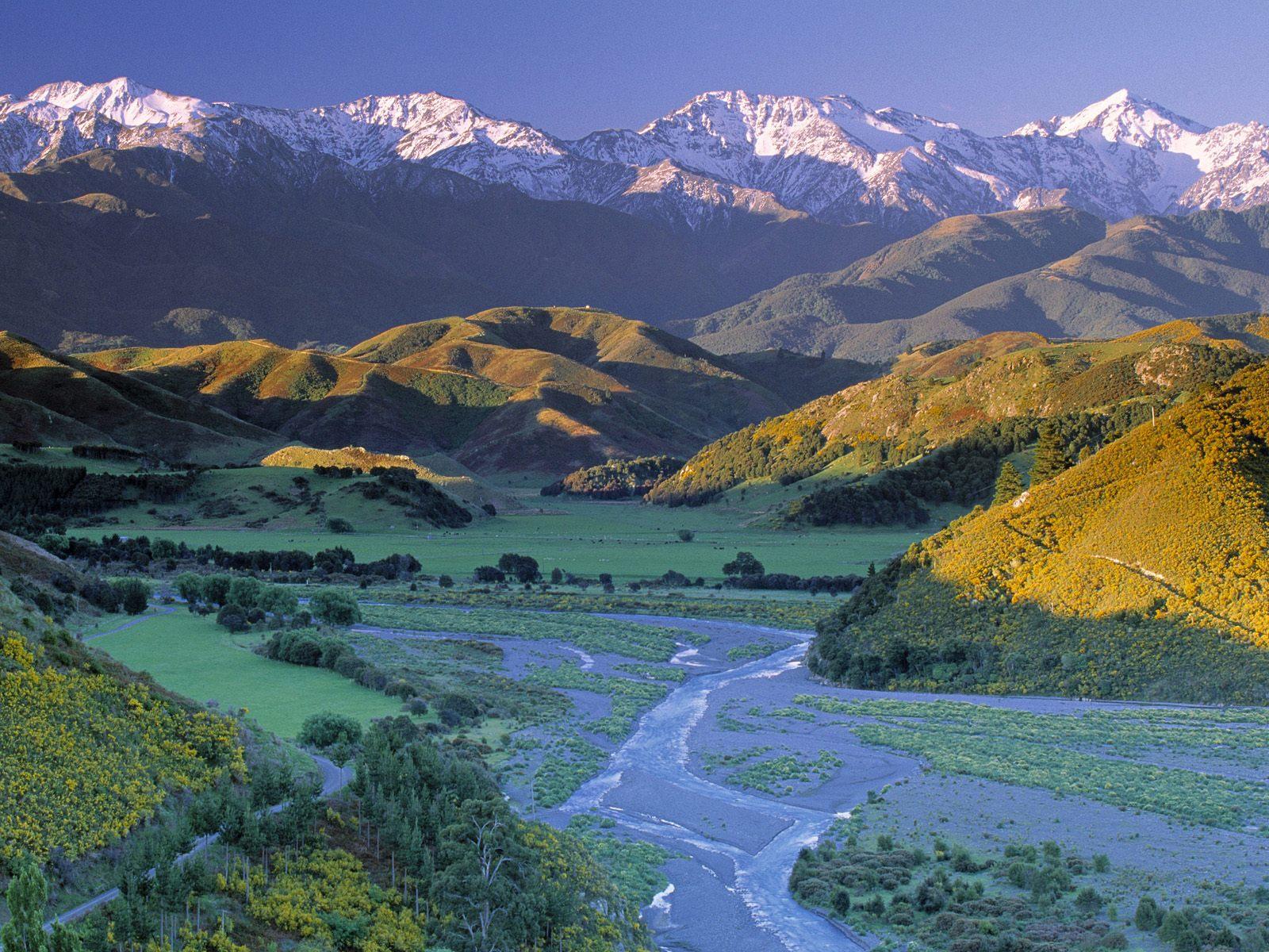 Новая зеландия Hd: Naturaleza Y Paisajes De Nueva Zelanda En HD