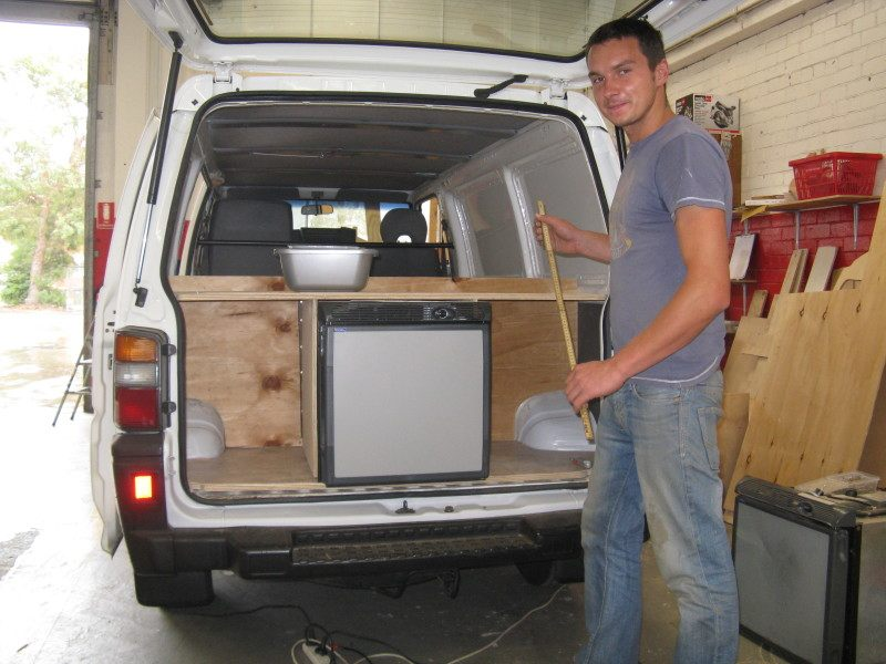Top Gear Challenges Build Your Own Camper Van Build