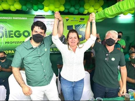 Tupanatinga: Com s presenças de varias autoridades politicas , convenção homologa os nomes do Dr. Diego e do Professor Marcos  para prefeito e vice na capital das águas.
