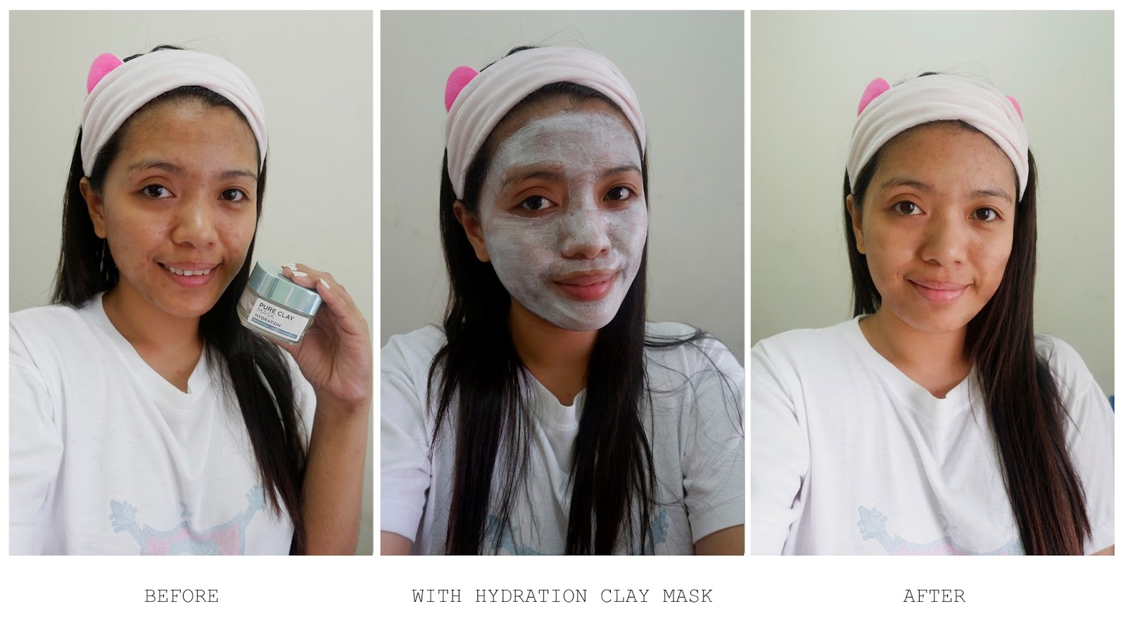 L'OREAL PURE CLAY MASK ANTI-PORES & HYDRATING REVIEW