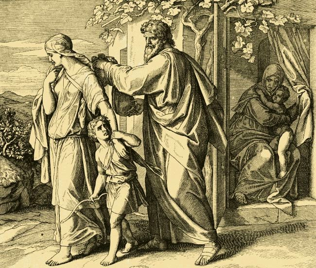 sacrifice of ishmael a s The unsettling nature of this form of understanding the narrative of abraham's sacrifice led me to ask: if god had wanted to prove the point of sacrifice, why did he put a stop to abraham's act at a point when the knife was to slit the throat of ishmael.