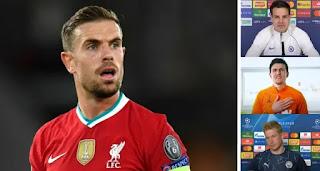 Liverpool midfielder Jordan Henderson calls emergency meeting of PL captains over Super League