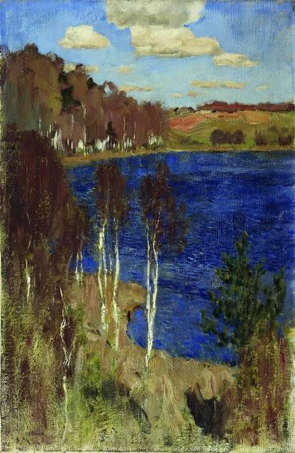 Исаак Ильич Левитан - Озеро. Весна. 1898