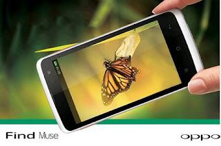 Spesifikasi dan Harga Smartphone Oppo Find Muse R821 Terbaru 2013