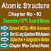 Chemistry Class 11 Notes | Atomic Structure | Chapter Two