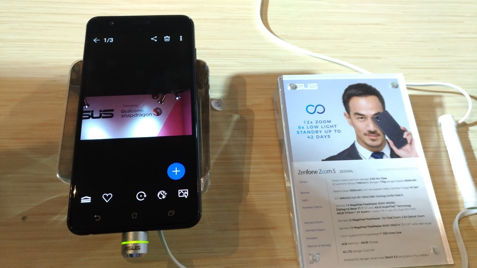 Hands On And Review ASUS Zenfone Zoom S And Zenfone Live