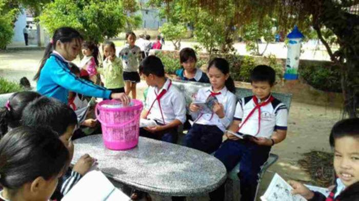 Giáo dục hiệu quả với thư viện xanh