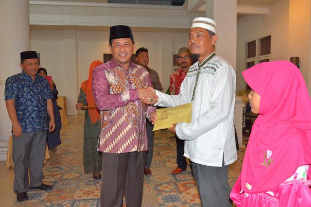 Alhamdulillah, Kafilah MTQ Banda Aceh Terima Bonus Rp353 Juta