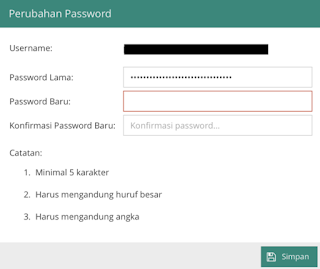 ganti password dapodik