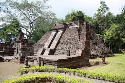 Candi Sukuh Pyramid, Central Java Indonesia