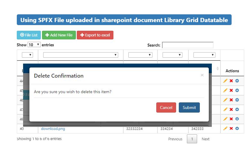 SharePoint Journey: Using SPFX File uploaded in SharePoint