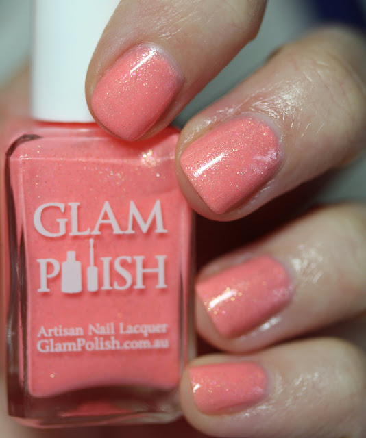 Glam Polish Sweet Peach