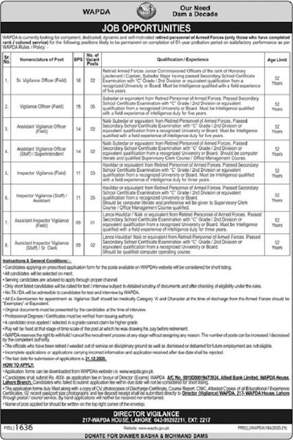 water-and-power-development-authority-wapda-jobs-2020-application-form