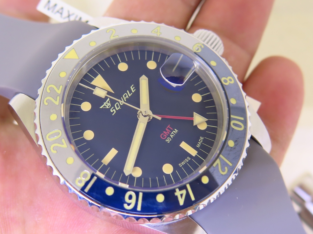 SQUALE 30 ATMOS TROPIC GMT CERAMICA - SEL BRACELET - AUTOMATIC