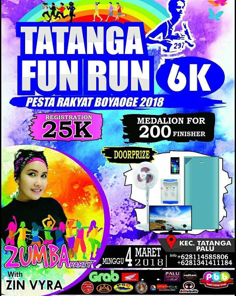 Tatanga Fun Run • 2018