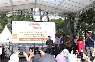 Pengundian grand prize Sobatku Bandung