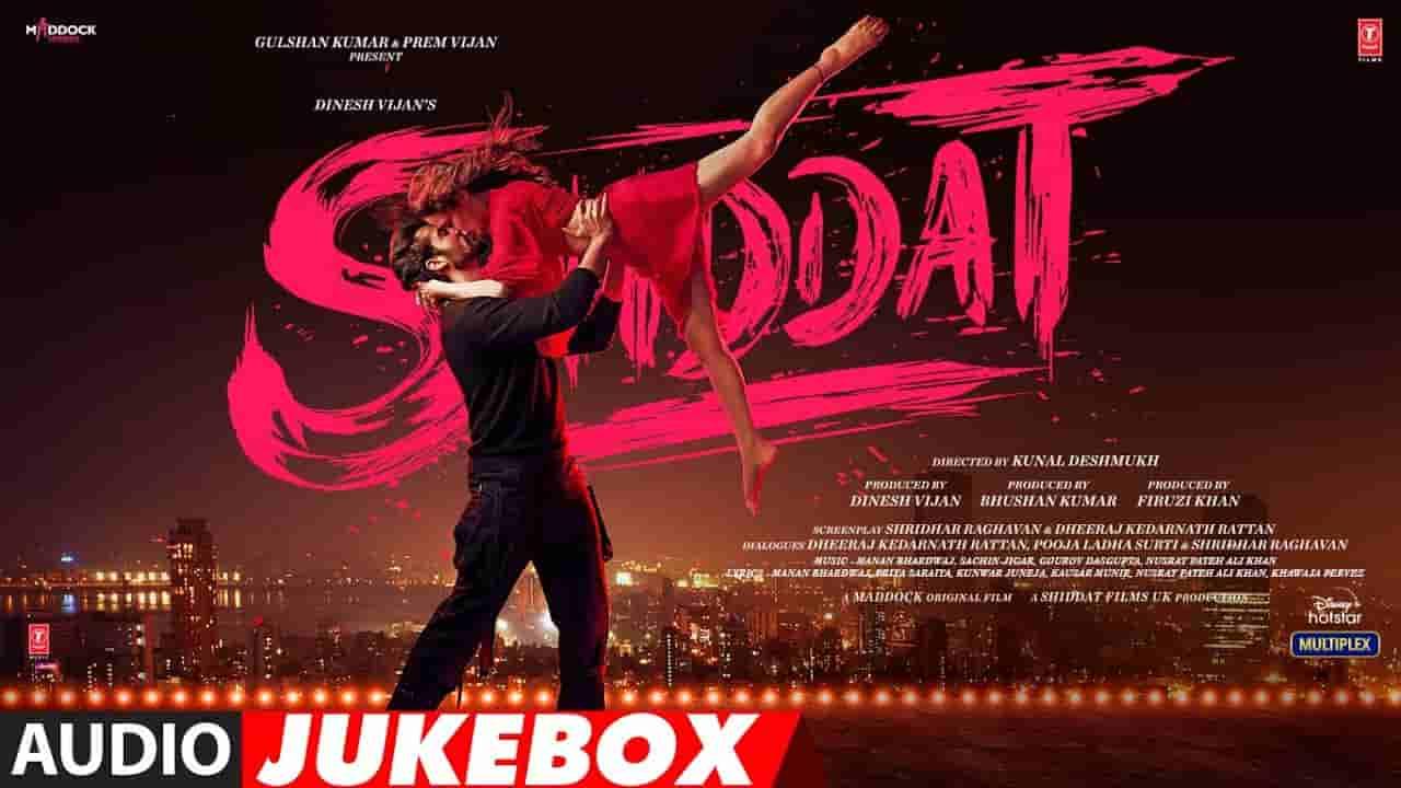 Barbaadiyan lyrics Shiddat Sachet Tandon x Nikhita Gandhi x Madhubanti Bagchi x Sachin-Jigar Bollywood Song