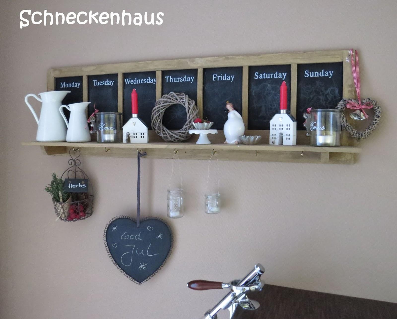 schneckenhaus adventsdeko. Black Bedroom Furniture Sets. Home Design Ideas