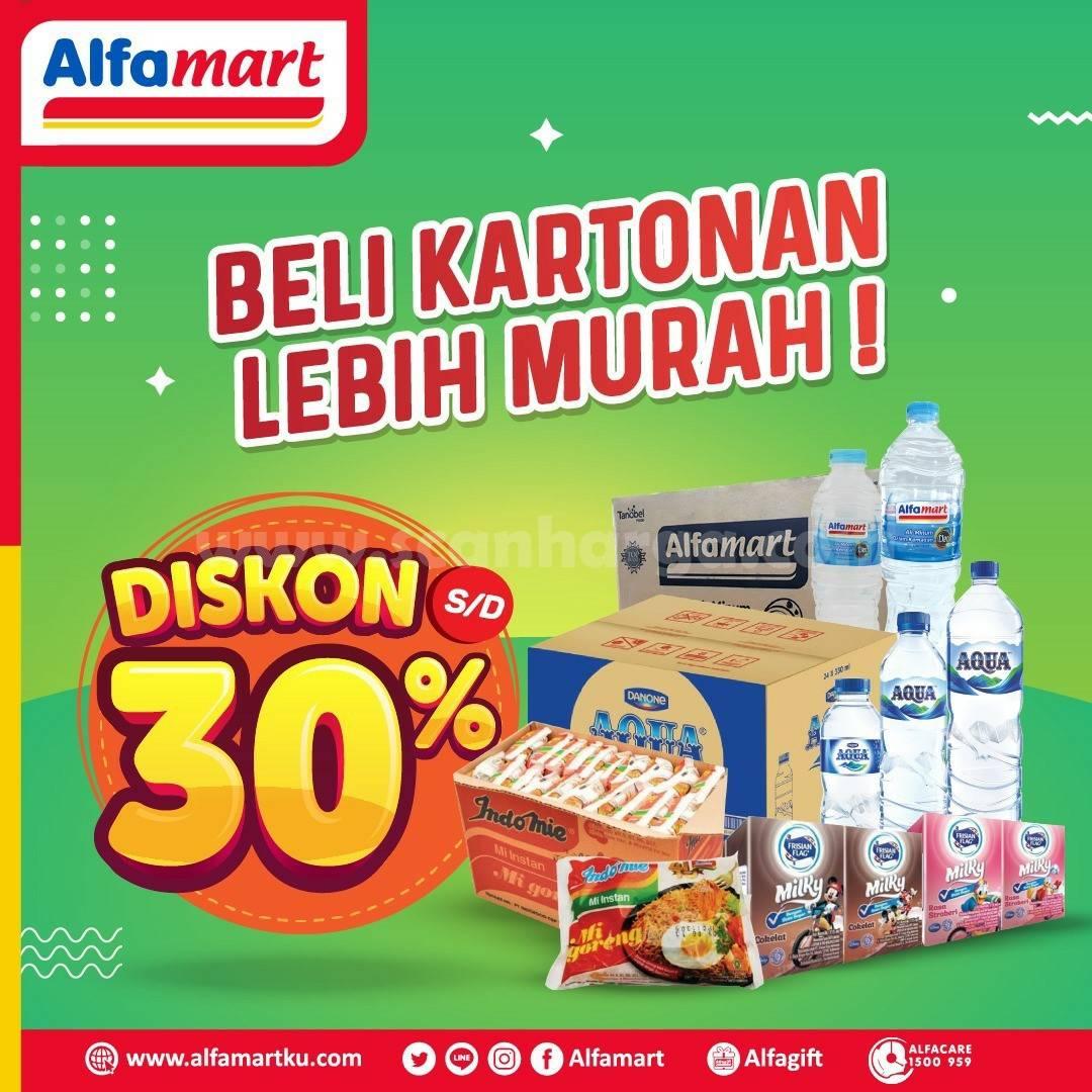 Promo ALFAMART Beli Kartonan Lebih Murah! Diskon hingga 30%