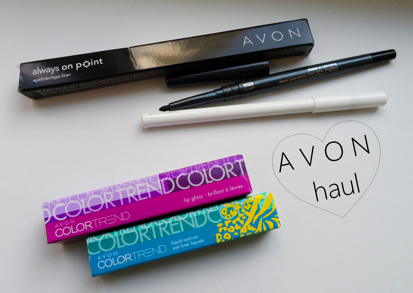 avon color trend cosmetics makeup  review swatches