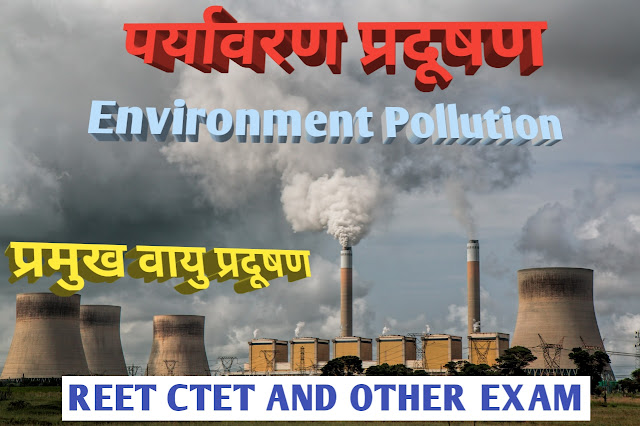 पर्यावरण प्रदूषण ( Environmental Pollution )