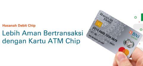 Pengalaman Mengganti Kartu ATM Chip BNI Syariah