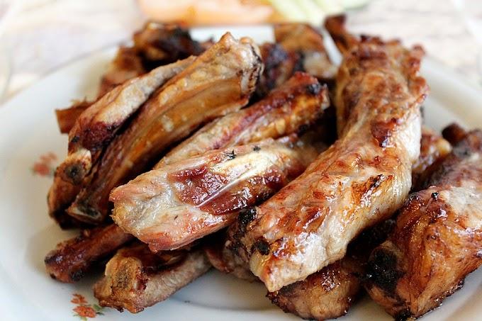 Char-grilled Pork BBQ | Dharane Kalo Bungurko Sekuwa