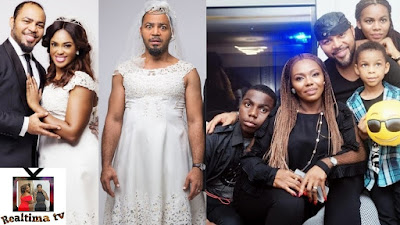 image result for ramsey nouah wife and children