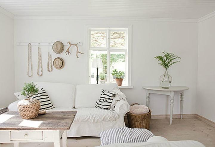 White Wicker Sofa For Sale Leather Sofas Houston Tx Inspirations On The Horizon: Shabby Chic Coastal Decor