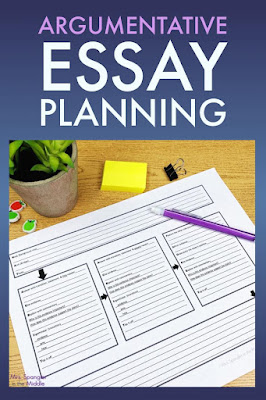 Planning is the third step in this simple writing process for essays.